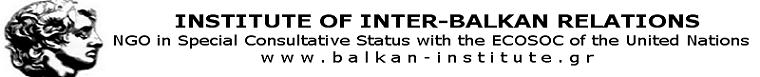 INSTITUTE OF INTER-BALKAN RELATIONS